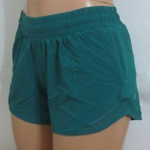 Lululemon Shorts Hotty Hot Green 6